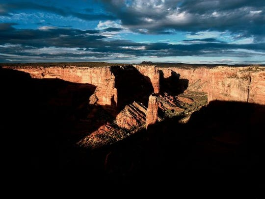 A guided trip to Canyon de Chelley in Arizona is offered
