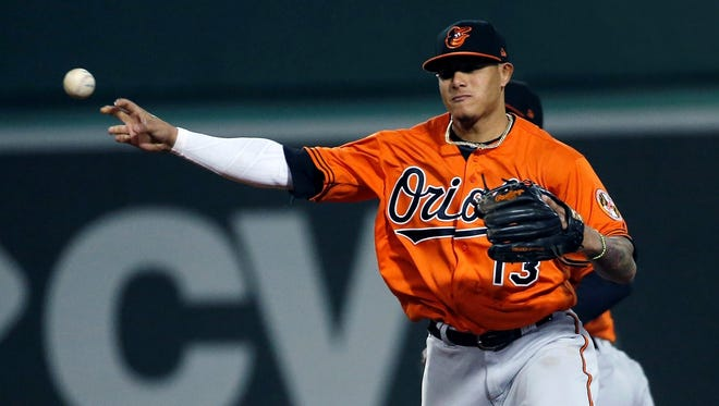 The Baltimore Orioles have traded Manny Machado to the Los Angeles Dodgers. AP FILE PHOTO