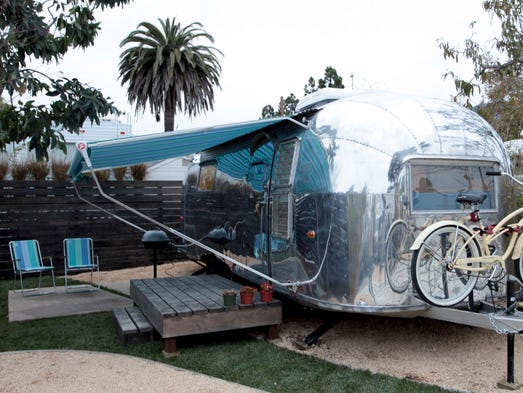 Classic Airstream Trailers Get Innovative Second Lives