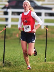 St. Henry senior Sam Hentz finished fifth in 1A to