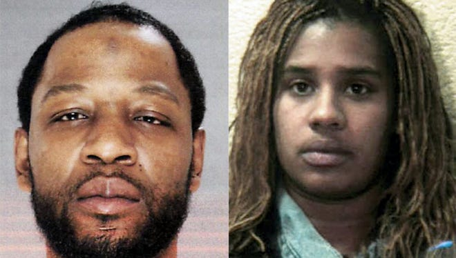 Eddie Williams and Akeita Harden were sentenced Wednesday to life in prison for killing a man in South Lebanon Township.