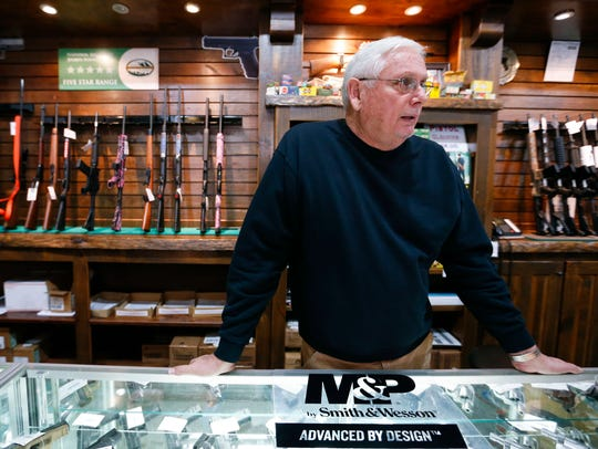 A.G. Paul , owner of The Sound of Freedom USA gun range