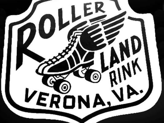Rollerland jacket patch 1950s