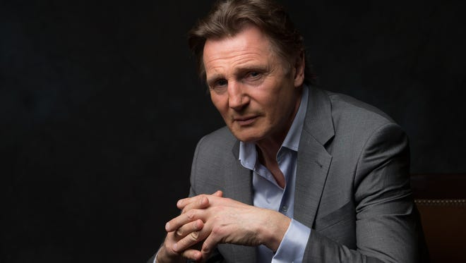 Liam Neeson is embracing his evolution into a middle-aged action star with his latest thriller, 'Non-Stop.'