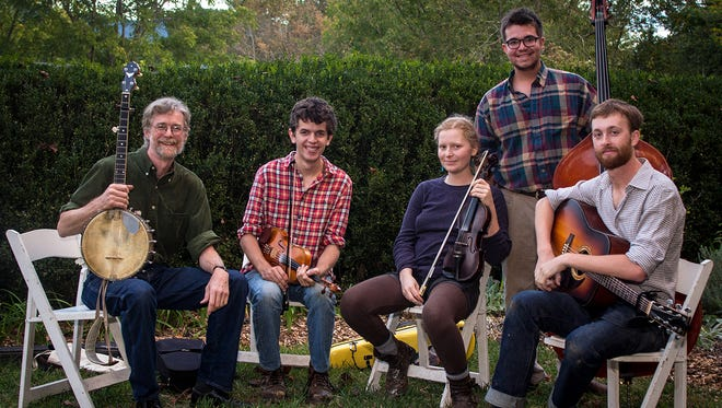 Warren Wilson College's Jenny and the Hog Drovers  (form left, Phil Jamison, Clarke Williams, Maddy Mullany, Landon George, Hayden Holbert) will be touring China in January.