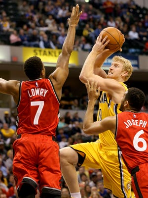 Chase Budinger has struggled to find consistent minutes with the Pacers.
