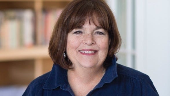 Cookbook author and Food Network host Ina Garten will be at the Riverside Theater in Milwaukee on March 8.