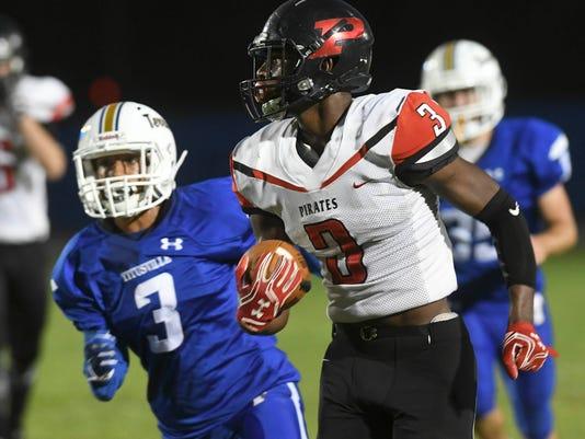 High School Football: Palm Bay at Titusville