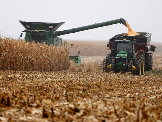 The prices expected for the crop remained the same in the midpoint of the range, but the overall range was narrowed to $3.20 to $3.50 per bushel.