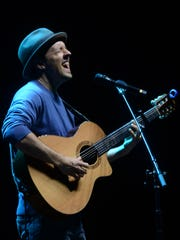 "Jason Mraz headlines the ""Good Vibes Tour"" at the BankPlus Amphitheater on Tuesday."