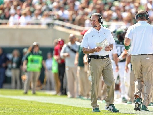 NCAA Football: Bowling Green at Michigan State