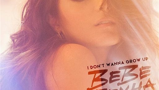 """This CD cover image released by Warner Bros. Music shows """"I Don't Wanna Grow Up,"""" the latest release by Bebe Rexha. (Warner Bros. Music via AP)"""