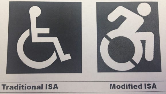 Handicapped  accessbility symbol