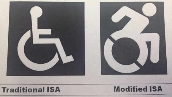 Handicapped  accessbility symbol