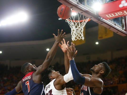 ASU vs Arizona basketball