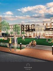 Proscenium: Developer Anderson Birkla plans to build a $60 million mixed-use development along Range Line Road in Carmel. Work will start in 2016 and the project will open in 2017.