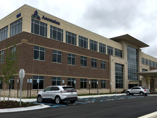 The new Ascension Medical Center, located at 1225 S.
