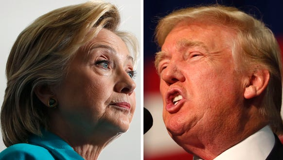 A comprehensive guide to all the insults Trump, Clinton exchanged this week