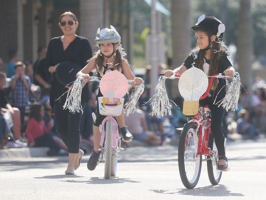A scene from the Edison Festival of Light Junior Parade