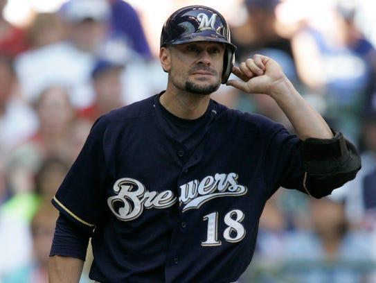 Milwaukee Brewers catcher Jason Kendall spent most