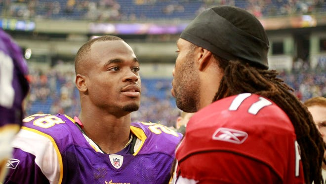 Now is the time to spring some kind of ridiculous offer on the Vikings for Adrian Peterson.
