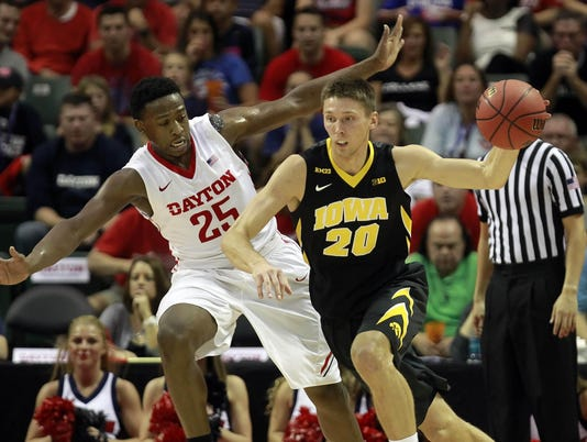 NCAA Basketball: Advocare International- Iowa Hawkeyes vs Dayton Flyers