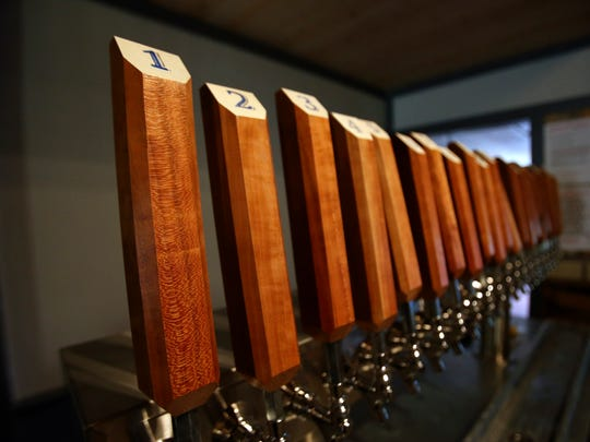 Twenty beers will be on tap this weekend at 3rd Turn