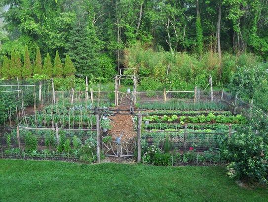 Springtown Farmden is the garden of Lee Reich in New