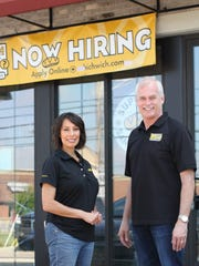 Which Wich franchise owner Jeff Hensley and operations