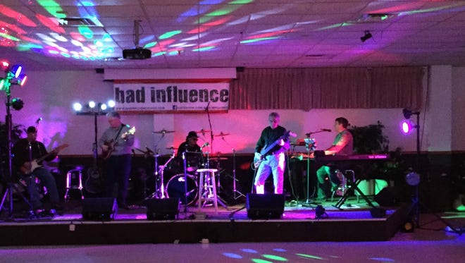 Bad Influence will open the city's Friday Night Bandstand concert series on June 3.