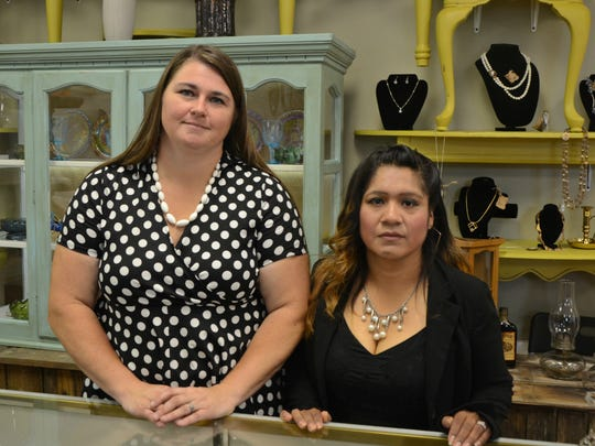 Another Gal's Treasure owners Dana Morton (left) and