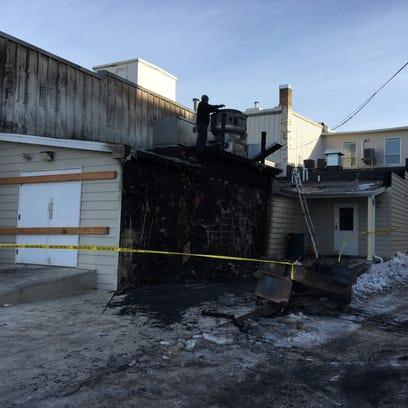 Cat found after Tuesday fire in downtown Sturgeon Bay