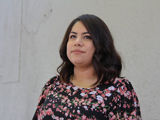 Zaira Flores, 26, came to the United States when she