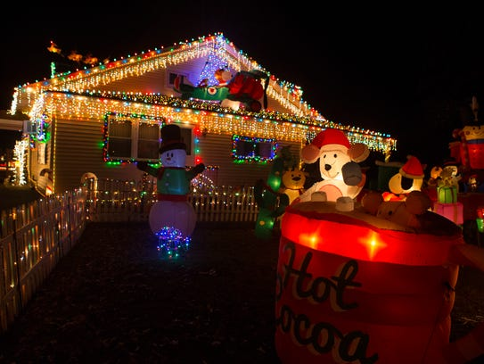 More than 700,000 holiday lights shine during the first