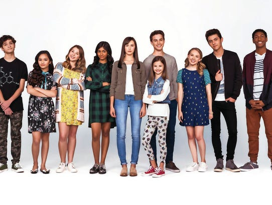 "The cast of Nickelodeon's ""I Am Frankie"""