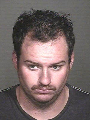 Mesa police arrested Robert Nathaniel White on Sept 30, 2014 on aggravated assault allegations.