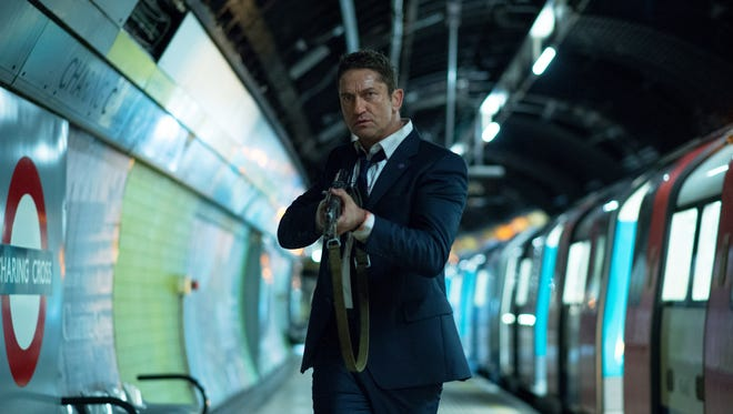 "It's up to Mike Banning (Gerard Butler) to save the life of the president in ""London Has Fallen."""