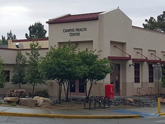 The Campus Health Center at NMSU.