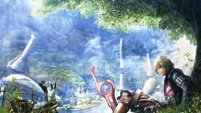 """Shulk and company return in """"Xenoblade Chronicles 3D"""" for the New Nintendo 3DS."""