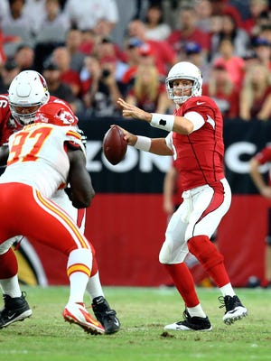 Cardinals QB Carson Palmer is healthy and excited about season.