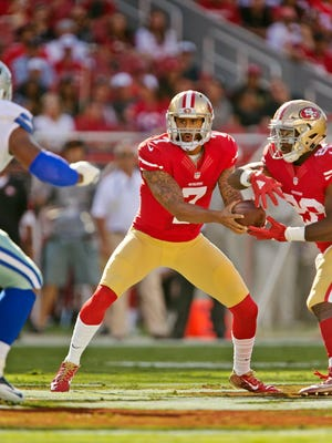 Colin Kaepernick remains wary of the rules concerning mobile QBs.