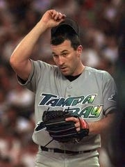 Mickey Callaway in his playing days