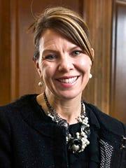 In this 2017 photo, Jennifer Riordan, of Albuquerque,