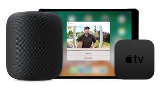 The Apple TV, iPad, and iPhone can all show a live view of your front-door camera—without you having to open any related apps. Just ask Siri.