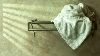 Old Used Towel