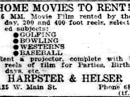 This ad ran in the April 7, 1947 Lancaster Eagle-Gazette.