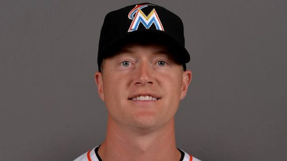 Roberson graduate Chris Narveson is a pitcher in the Miami Marlins organization.