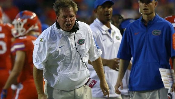 Florida coach Jim McElwain has had his share of sideline