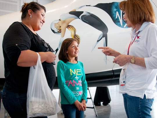 8-year-old Las Cruces resident Elizabeth Berrun talks