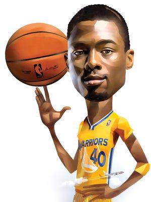 Harrison Barnes of the Golden State Warriors